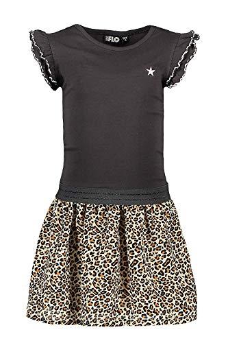 Zoals Flo meisjes jurk antraciet F903-5830-780