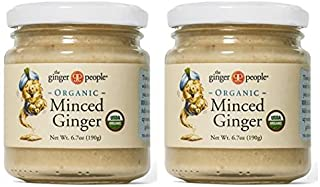 The Ginger People Organic Minced Ginger 6.7 Ounce (Pack of 2)