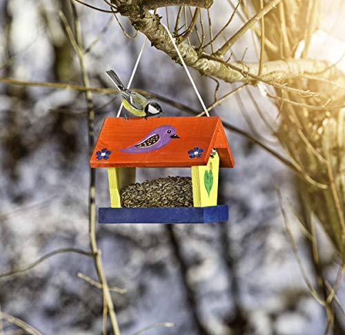 Windhager Vogelfuttersilo-Bausatz Woodpecker, beige - 6