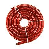 Create Idea Cable de soldadura de batería de 21 mm, 170 A, 5 m, cable HI-FLEX, PVC, compatible con...