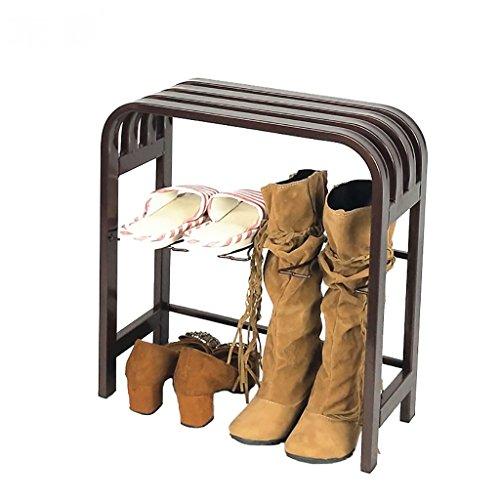 LWJJXJ Schoenenrek Nordic simplicity Schoenenbank Ingang veranda schoenen bank Boots Zittende schoenenrek