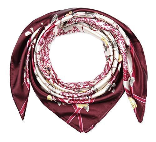 Large Square Satin Silk Like Lig...
