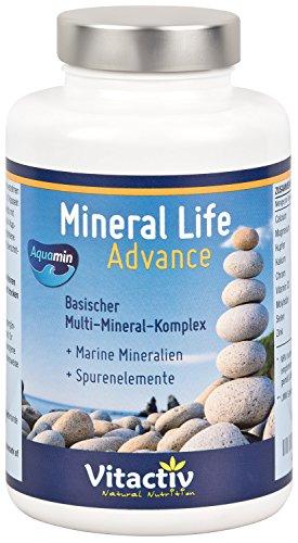 MINERAL LIFE Advance natürliche Kapseln mit Aquamin zur Regulierung des Säure-Basen-Haushalts, 120 Kapseln