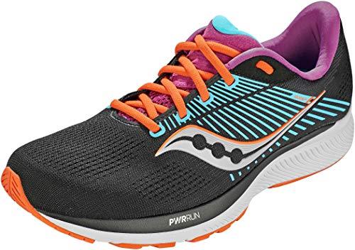 Saucony Women's Guide 14 Running Shoe, Future Black, 9