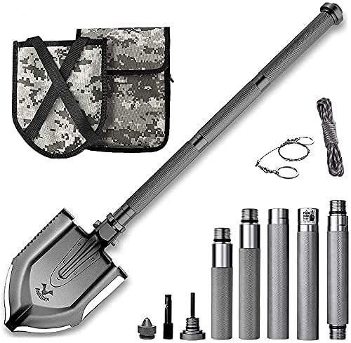 Zune Lotoo Survival Apocalypse Shovel Folding Camping Gear,...