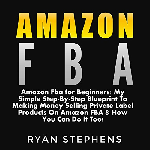 Amazon FBA for Beginners audiobook cover art