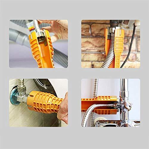 MeterMall nieuw voor geel multifunctionele moersleutel sanitair gereedschap kraan&wastafel Installer voor wc kom wastafel badkamer keuken
