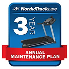 Repairs and annual maintenance requests are supported directly from NordicTrack Email delivery, no hidden fees or deductibles, transferable for gifting or resale Protection against electronic failures, broken parts, power surges and normal wear and t...