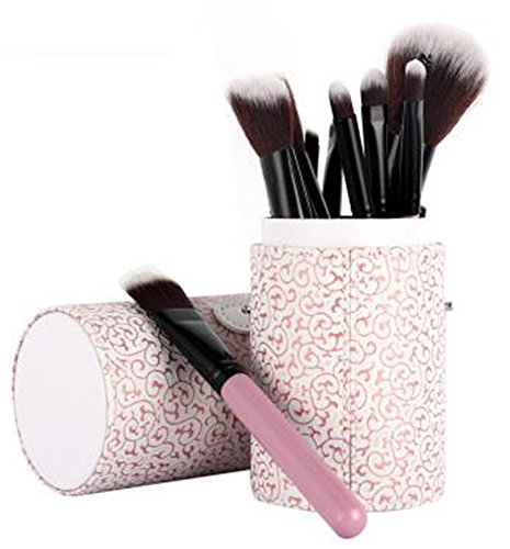MoGist 12 pinceaux de Maquillage de Poils d'animaux