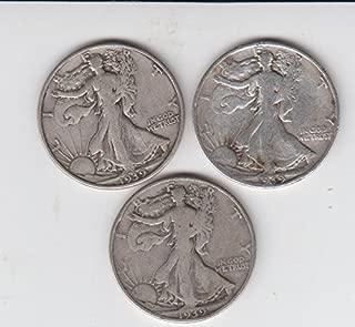 1939 liberty half dollar