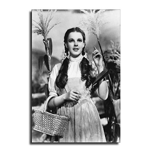 FINDEMO Judy Garland Poster Decorative Painting Canvas Wall Art Living Room Posters Bedroom Painting 20×30inch(50×75cm)