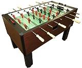 Shelti Pro Foos II Deluxe Foosball Table, 55 1/4 x 30 x 36-Inch