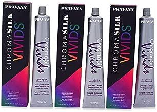 Pravana Chromosilk Vivids Hair Color (3 Pack) (Vivid Violet)