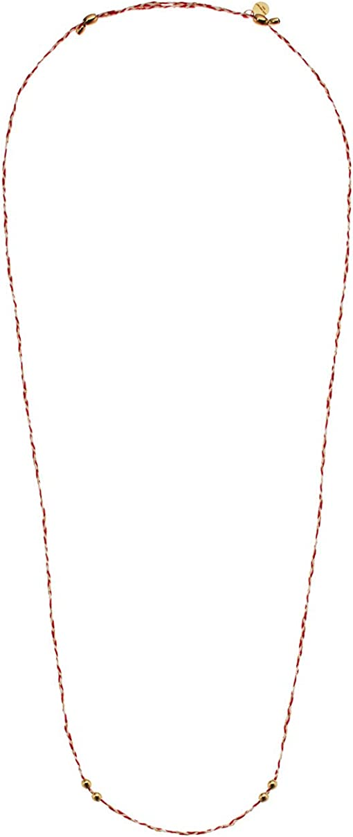 White/Red/14KT Gold Plated
