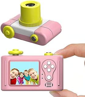 指玩奇特 第三代儿童卡通数码相机小单反运动摄像照相机 (粉色送8G内存卡)