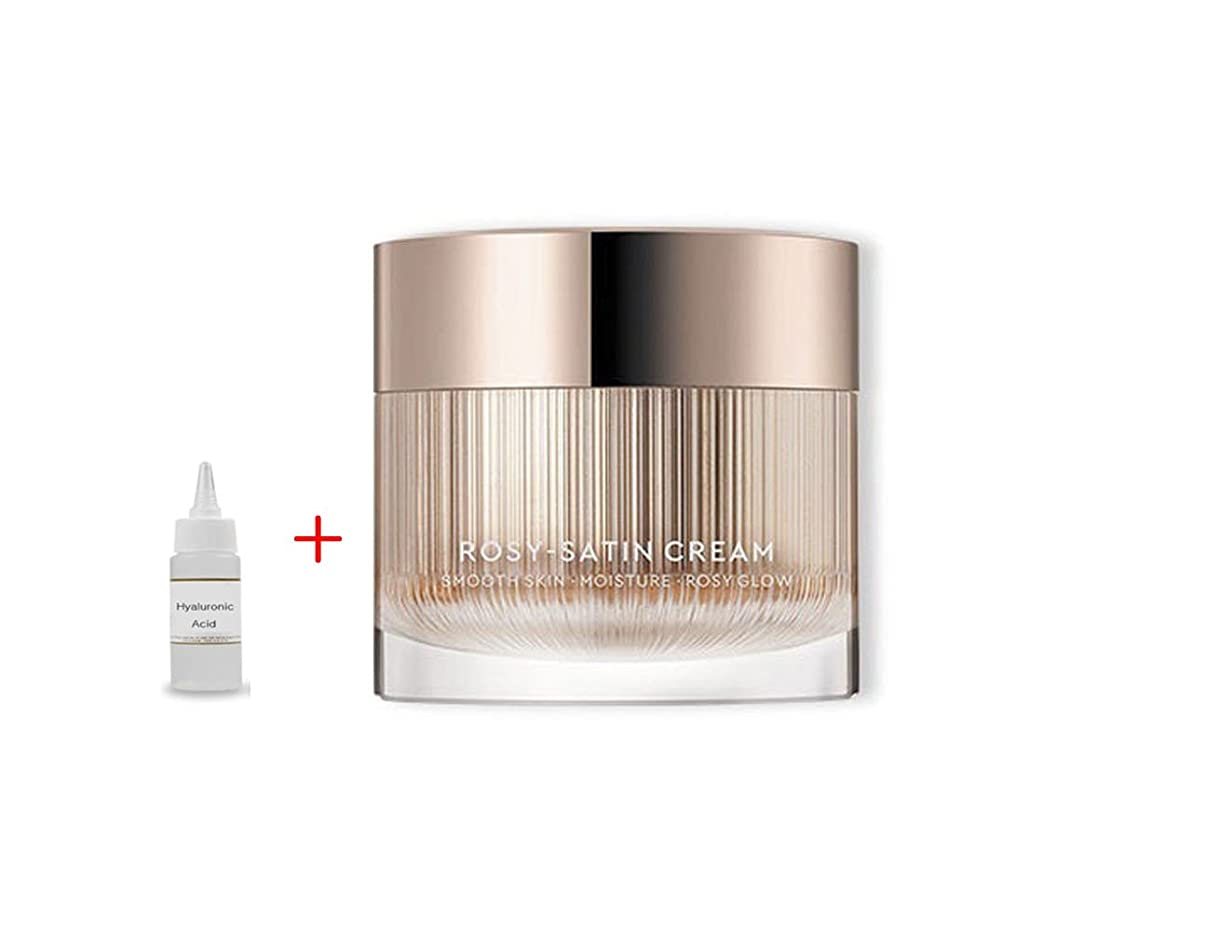 祝福するシュートのホストHERA New Rosy Satin Cream 50ml:Smooth Skin Moisture Rosy Glow 滑らかな肌の保湿化粧水 + Ochloo Hyaluronic Acid 20ml [並行輸入品]