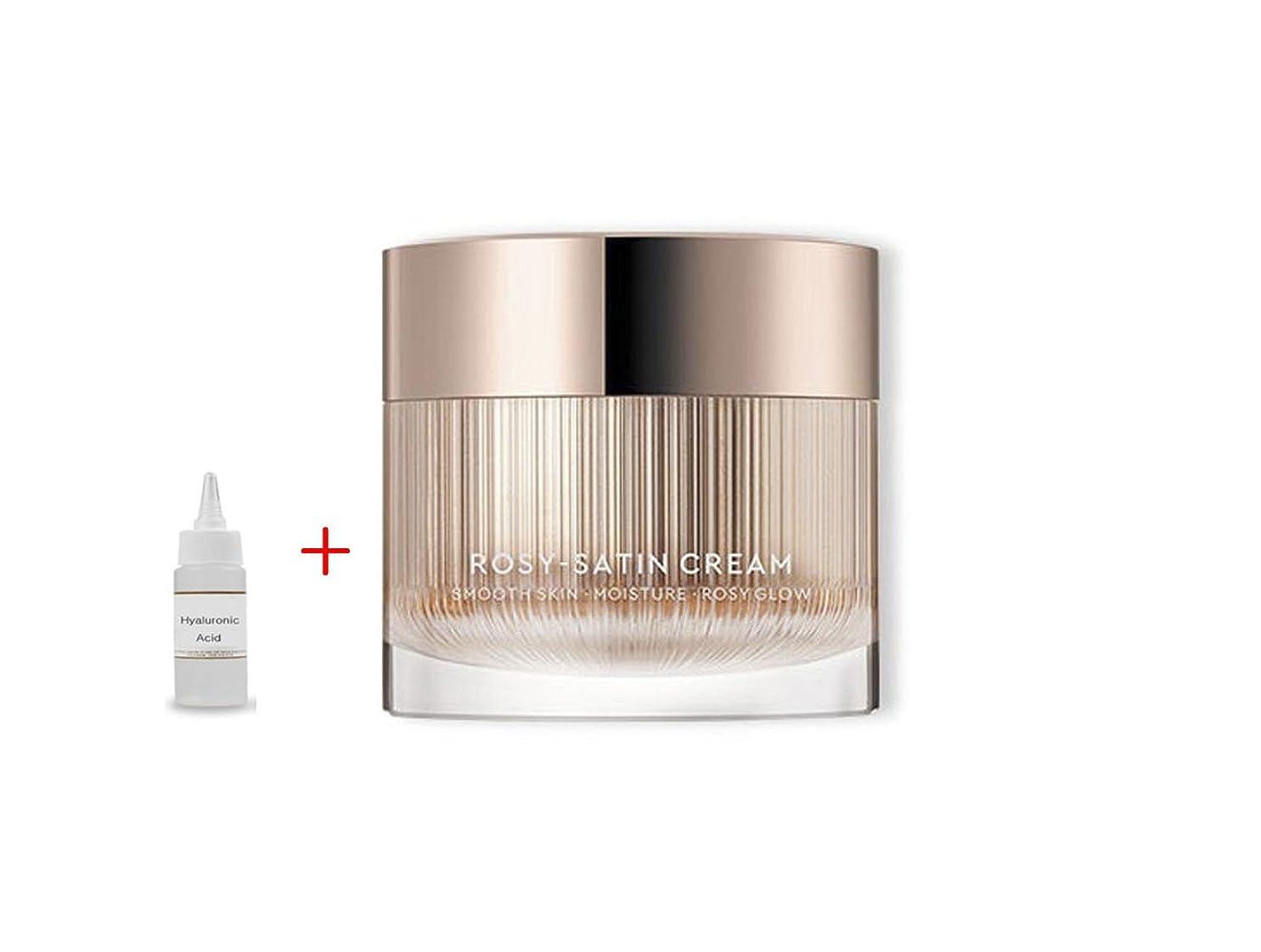 イデオロギーたらいデンマークHERA New Rosy Satin Cream 50ml:Smooth Skin Moisture Rosy Glow 滑らかな肌の保湿化粧水 + Ochloo Hyaluronic Acid 20ml [並行輸入品]