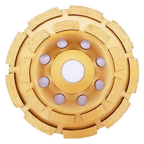 APlus Muela a Taza Diamante 115mm x 22,2 mm / Disco Diamante/ para Hormigón, Piedra Natural, Ladrillo