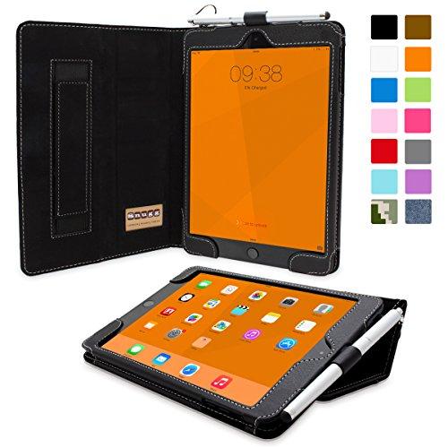 Snugg - Custodia in pelle con supporto per Apple iPad mini 3, colore: Azzurro Nero iPad Mini 3