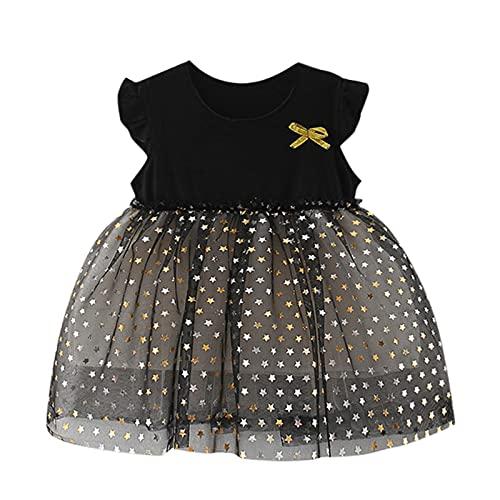 Fossen 0-3 años Bonito Vestido de Encaje para Niñas Bebés