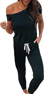 Homebaby Taglie Forti Donna Salopette Lunga Elegante Cotone Moda Tasche Ufficio Tute Tuta Plaid Ragazza Loose Monopezzi E Tutine Estive Tuta Sportiva Jumpsuit Donna Eleganti Completo
