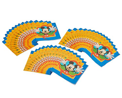 American Greetings Mickey Mouse Lunch Napkins, 48-Count