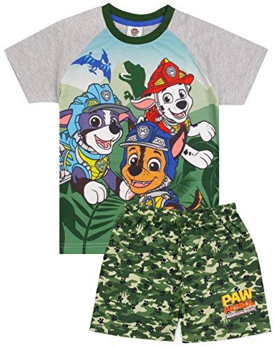 Paw Patrol Pijama Camiseta de Camuflaje para niños con Parte inferi 18-24 Meses