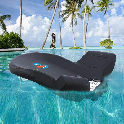 DZSF 3 Enginesea Scooter 120W Pool Beach Water Entertainment Swimming Electric Sea Scooter Propeller for Kids Adult