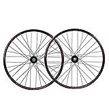 Accesorio de bicicleta de ejes de liberación rápid Placa de ruedas de bicicleta 26 pulgadas MTB Relas de ciclismo RIMS 559 DISCO DE FRENO DE DISCO CUBIERTO DE RODAMIENTO SELLADO QR 32 HAJADO PARA 11 V
