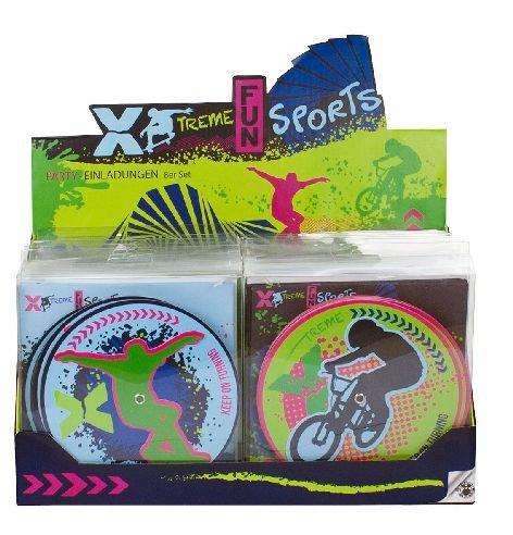 Trendhaus trendhaus942548Xtreme Fun Sports Einladung Karten für eine Party