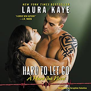 Hard to Let Go audiobook cover art