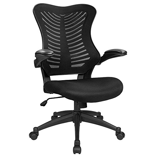 Furmax Mid Back Office Chair Mesh Desk Computer Chair with Flip...
