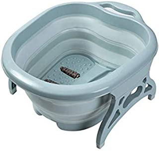 Large Foot Soaking Tub, Rubber bucket for feet, foot tub,foot bath, for at Home Spa Pedicures Plastic Foldable Bucket For ...