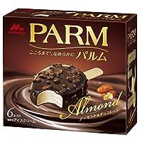 森永乳業 PARMアーモンド&チョコレート 58ml×6本×6個