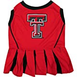 Pets First Collegiate Texas Tech Red Raiders Dog Cheerleader Dress, X-Small