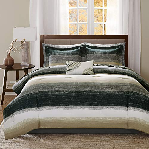 Madison Park Essentials Cozy Bed in a Bag Comforter Set
