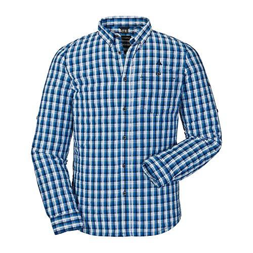 Schöffel Shirt Kuopio2 UV LG Homme, Navy Blazer, FR : 2XL (Taille Fabricant : 58)
