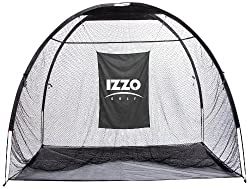 Best golf practice net for the golfer who wants the biggest net: Izzo giant hitting net