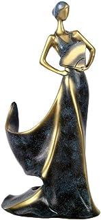 Décoration de la maison ornements sculpture sculpture beauté fille modèle casier à vin porte-whisky étagère porte-bouteill...