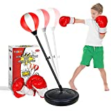 YEEBAY Punching Bag for Kids Age 4, 5, 6, 7, 8 Years Old Boys, Incl Boxing Gloves & Stand, Height...