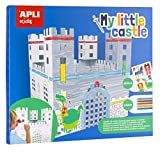 APLI Kids- Castillo automontable de cartón, Color blanco (16715) , color/modelo surtido