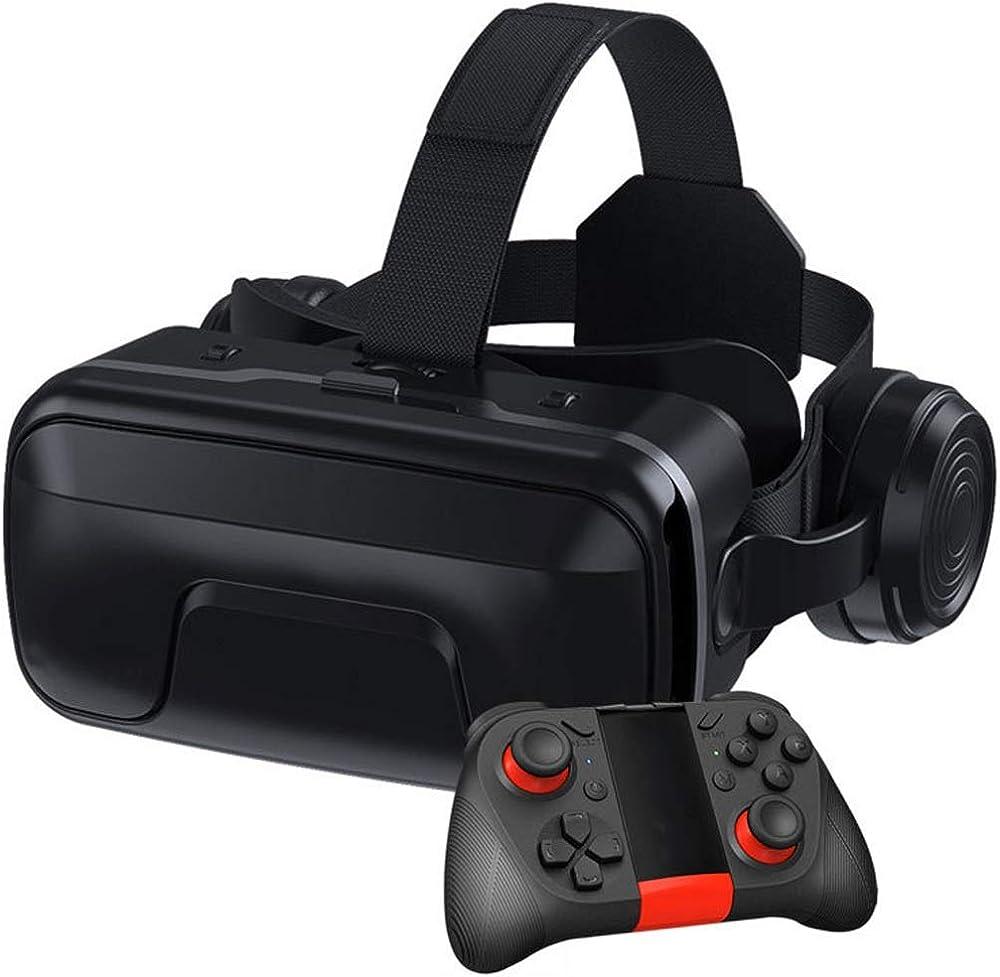 Jcsw realtà virtuale, vr occhiali 3d, compatibili con tutti gli smartphone da 4,7 a 6,5 pollici, JCSW-38
