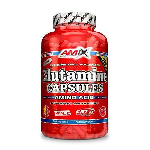 AMIX GLUTAMINE CAPSULES (360 CAPS)