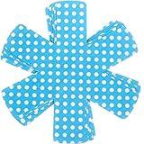 HYXGY 8 unids/Set Estera Resistente Posavasos cojín Mantel Individual Soporte de Maceta Almohadilla de Mesa ollas tazón sartenes Separador Accesorios de Cocina