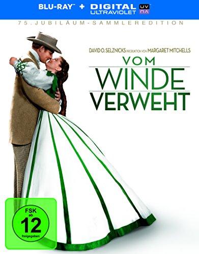 Vom Winde verweht - 75th Anniversary (Sammleredition + 2 Bonusdisc + Booklet) [Blu-ray]