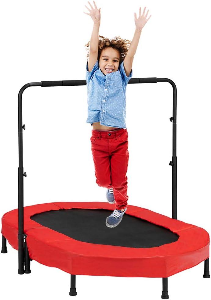 Trampoline for Children Folding with half Atlanta Mall Rebounder Adjus