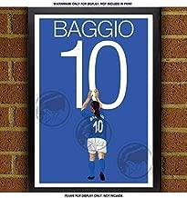 Roberto Baggio Poster - Italy Art