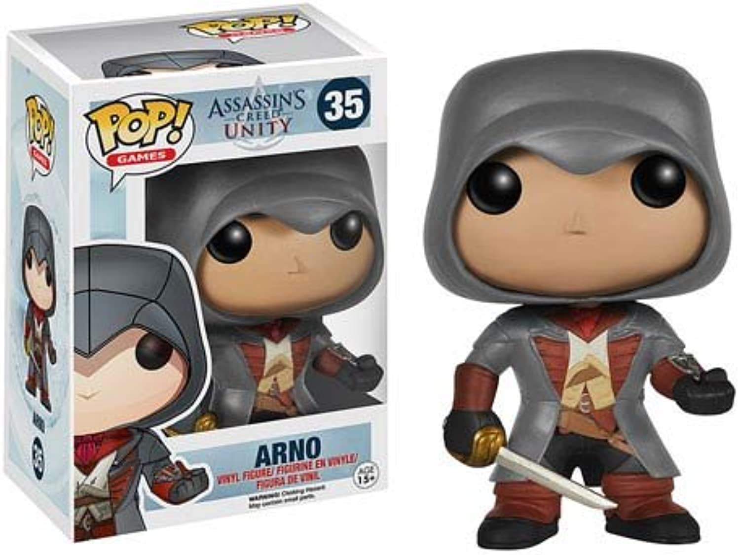 Pop  Assassin's Creed Unity Arno Vinyl Figure
