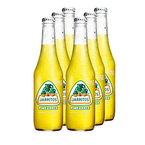 JARRITOS Ananas Limonade, 6er Pack, EINWEG (6 x 370 ml)