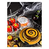 YALUO Sweet Lollipop Pintura de Lona Pósteres e Impresiones Sala de Estar Wall Art Fotos Moderno de Halloween Regalos Niños Habitación Decoración (Color : B, Size : 30x40cm No Frame)